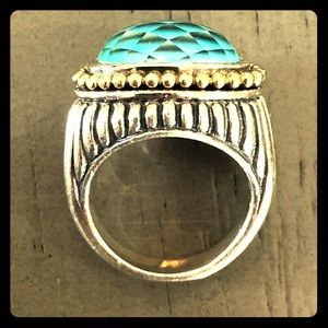 Lagos Turquoise Ring